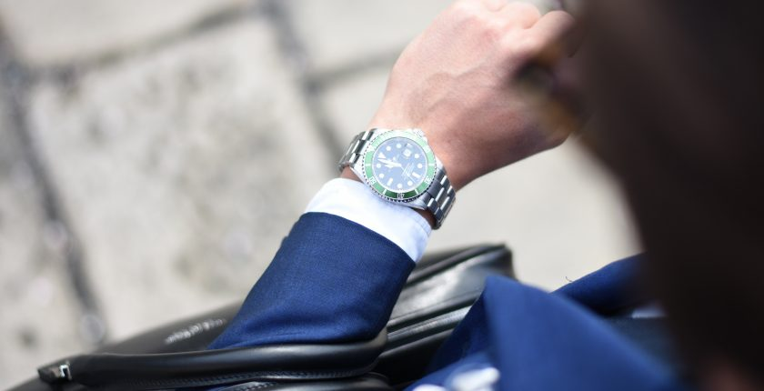 What time is it - checking watch